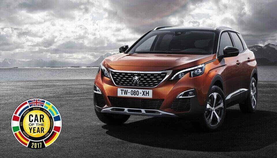 All-new Peugeot 3008 SUV is the European Car of the Year 2017