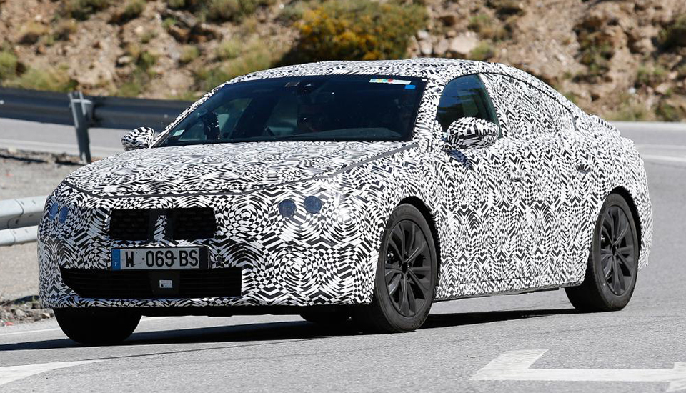 Get a first look at the new Peugeot 508, due in 2018