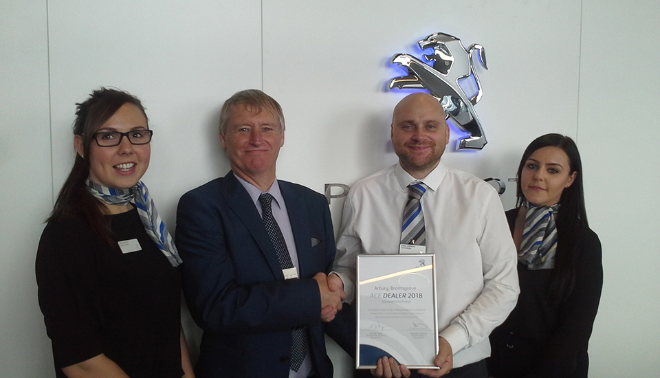 Peugeot dealership passes Foundation Phase of ACE Accreditation