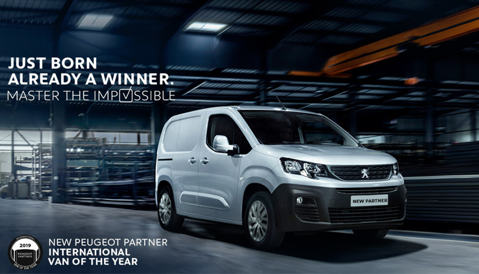 All-New Peugeot Partner Named 'International Van Of The Year 2019'