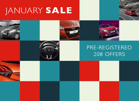 Pre-registered Peugeot 208 Offers