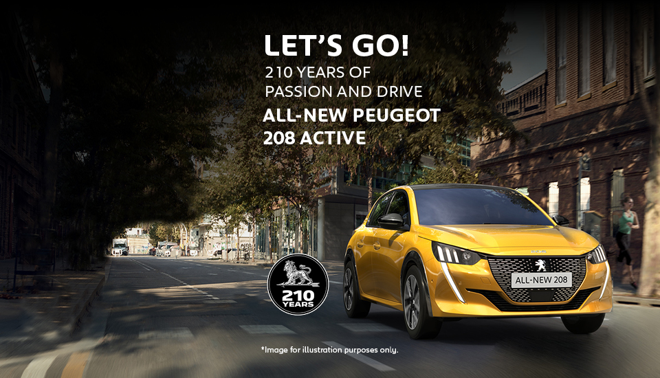 All-new Peugeot 208 Active