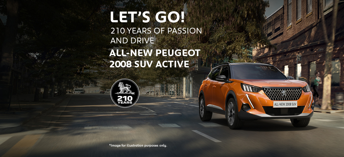All-new Peugeot 2008 SUV Active