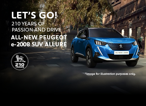 All-new Peugeot e-2008 SUV Allure
